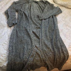 Torrid knit long cardigan size 3 EUC